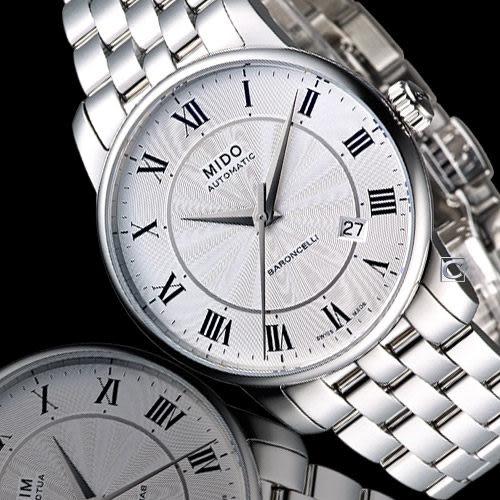 美度錶 MIDO Baroncelli II 羅馬假期機械腕錶  M86004211