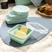 【最後倒數 滿999現折99元】輕巧摺疊餐盒400ml-薄荷綠-生活工場