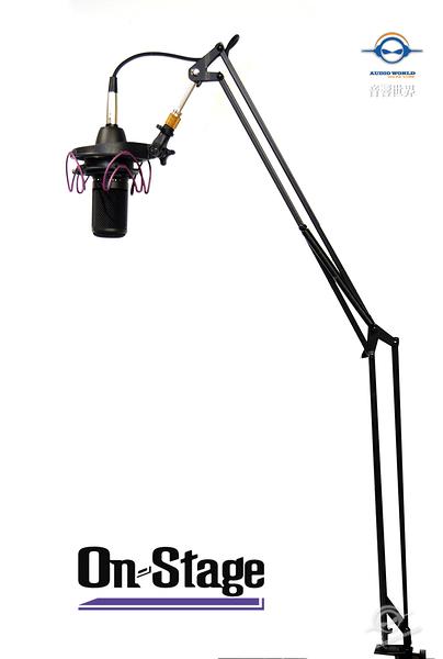 【音響世界】美國On-Stage Stands MBS5000桌上型伸縮麥克風架》含3米麥克風線