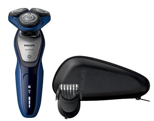 飛利浦 PHILIPS 荷蘭原裝 乾濕兩用三刀頭電鬍刀 S5600