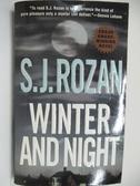 【書寶二手書T1/原文小說_AHP】Winter and Night_S.J.Rozan