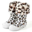 法國BOXBO 兒童雨鞋 / 雨靴-愛時尚系列 (豹紋白)