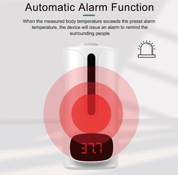 IDEA 全自動感應酒精消毒器 自動 感應紅外線 手部 防疫 消毒 紅外線 壁掛 非充電款