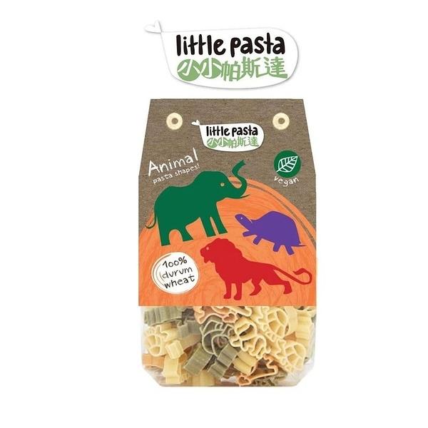 英國 little pasta 小小帕斯達 造型兒童義大利麵250g-動物[衛立兒生活館]