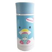 小禮堂 山姆企鵝 保溫瓶 350ml (藍全身款) 6983164-79709