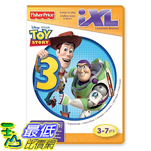 [106美國暢銷兒童軟體] Fisher Price iXL Learning System Software Toy Story 3