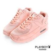 PLAYBOY 時髦革命 可愛色系 慢跑運動休閒鞋-粉