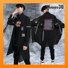 街頭風長袖寬鬆襯衫男士上衣搖滾樂團風英文字街頭感-M-XL【AAA4726】預購