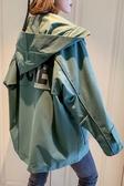 初休閒工裝短外套女潮韓版寬鬆學生慵懶風夾克  潮流衣舍