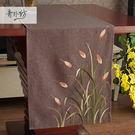 時尚可愛空間餐桌布 茶几布 隔熱墊 鍋墊 杯墊 桌旗34 (38*200cm)