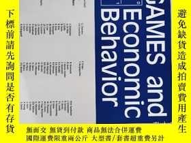二手書博民逛書店games罕見and economic behavior 2020年5月 英文版Y42402