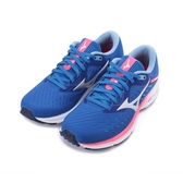 MIZUNO WAVE RIDER 24 慢跑鞋 藍粉 J1GD200320 女鞋