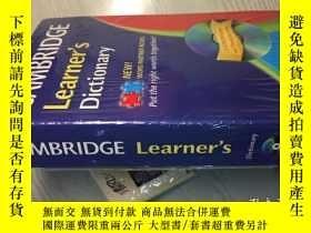 二手書博民逛書店CAMBRIDGE罕見LEARNER S DICTIONARY