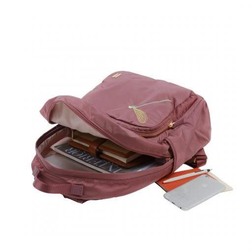 SUMDEX  NON-783CR-DG  13MAC/12吋筆電和iPad平板 經典輕商務後背包紅色(蜻蜓版)