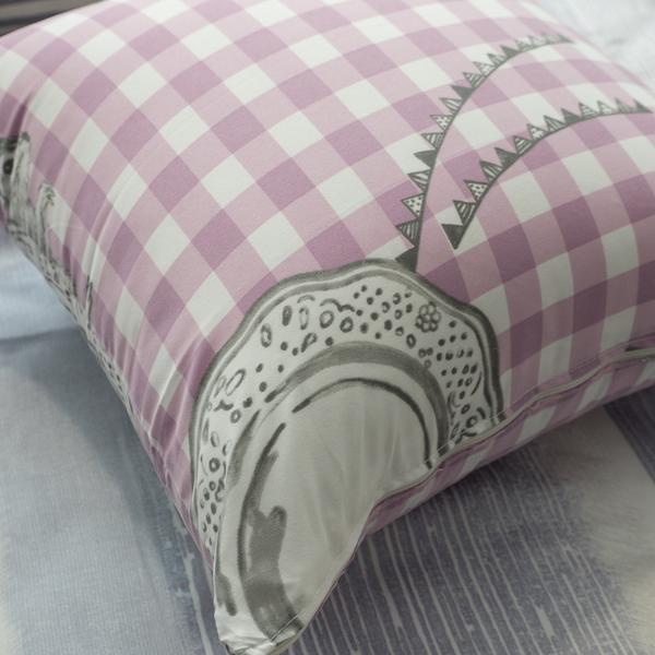 北歐風 方抱枕 枕心飽滿 45cmX45cm 布套可拆洗 圖案可愛獨家 台灣製 棉床本舖【超取限購一顆】