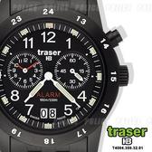 Traser CLASSIC ALARM BD鬧鈴計時錶#100264運動錶【AH03030】99愛買生活百貨