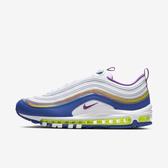 Nike Air Max 97 Qs [CJ0591-100] 男鞋 運動 休閒 慢跑 經典 復古 潮流 穿搭 白藍