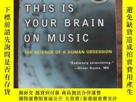 二手書博民逛書店This罕見Is Your Brain on Music: Th