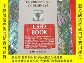 二手書博民逛書店THE罕見LEGAL ENVIRONMENT OF BUSINE