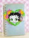 【震撼精品百貨】Betty Boop_貝蒂~筆記本-藍花