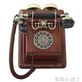 復古電話機派拉蒙仿古復古實木電話機1912酒吧走廊電話皇家壁掛電話機裝飾 NMS蘿莉小腳丫