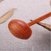 按摩棒黑檀木質按摩錘子捶背器按摩棒敲打錘敲背錘 【LX品質保證】