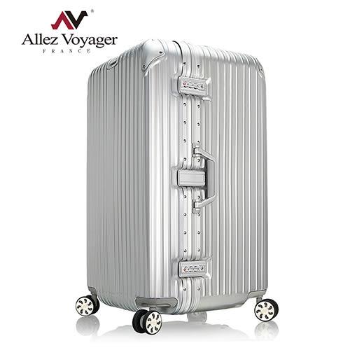 行李箱 旅行箱 29吋 法國奧莉薇閣 PC鋁框 Sport運動版(銀色)