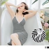 《VB0340》質感蕾絲拼接細肩帶性感睡衣 OrangeBear