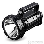 手電筒 久量強光手電筒LED可充電探照燈超亮戶外遠射多功能手提礦燈家用【免運快出】
