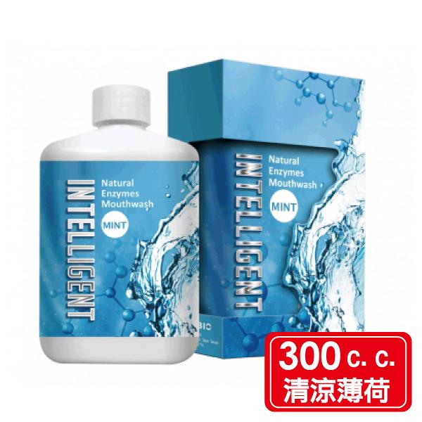 Intelligent 因特力淨 酵素漱口水 300c.c./罐 (清涼薄荷) 專品藥局【2013835】