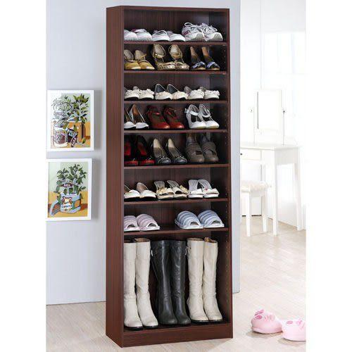 《百嘉美》H-新胡桃色十層鞋櫃(高180公分) 鞋架 書櫃 置物櫃 斗櫃 收納櫃
