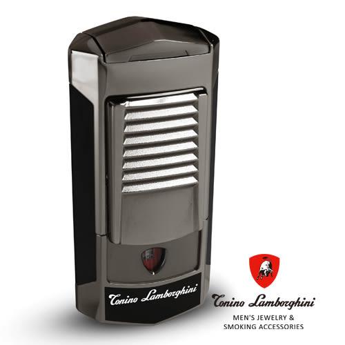 義大利 藍寶堅尼精品 - SEPANG LIGHTER 打火機(黑色) ★ Tonino Lamborghini 原廠進口 ★