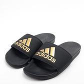 ADIDAS  ADILETTE CLOUDFOAM  運動拖鞋-黑/金 B41742