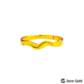 Jove Gold漾金飾 舞動青春黃金戒指