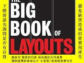 二手書博民逛書店The罕見Big Book Of Layouts (big Book (collins Design))Y25