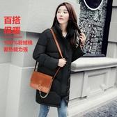 棉襖女冬季韓版學生棉衣中長款寬鬆bf面包服加厚棉服 新年慶
