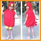 萬聖節服裝.聖誕節服裝表演服裝表演道具動物服裝-紅紅忿怒鳥