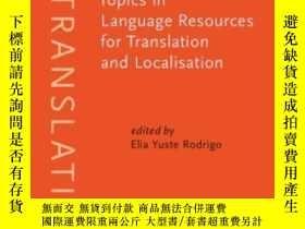 二手書博民逛書店Topics罕見In Language Resources Fo