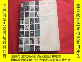 二手書博民逛書店DECADE罕見Acoiiection of poems from the first ten years of
