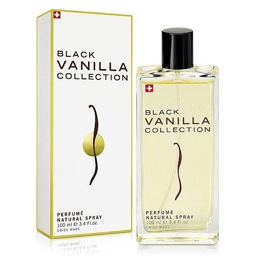 Musk Collection Black Vanilla 瑞士香草蘭花淡香水 100ml 搭贈原廠紙袋