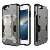 Phonefoam iPhone6/6s 4.7吋腰夾式插卡吸震保護殼(灰)