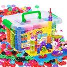 雪花片幼兒園兒童積木塑料1-2歲益智拼裝...