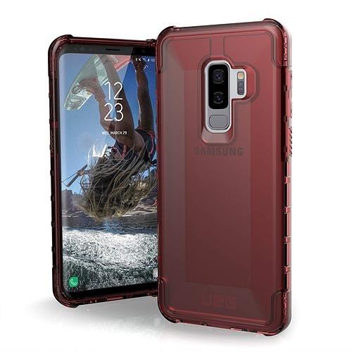 【美國代購】UAG專為三星Galaxy S9 Plus設計 軍用摔落測試手機殼 暗紅