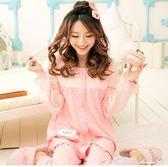 春夏季薄款純棉月子服產後產婦長袖季孕婦睡衣哺乳衣套 瑪麗蓮安