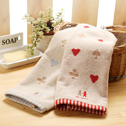 【taoru】Full House - 日本有機棉 方巾 34x35 cm - 日本 Imabari Towel 認證的有機棉方巾