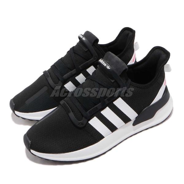 adidas 休閒鞋 U_Path Run W 黑 白 男鞋 女鞋 襪套式 復古慢跑鞋 運動鞋 【PUMP306】 G27639