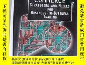 二手書博民逛書店Electronic罕見Commerce:Strategies