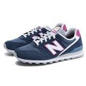 NEW BALANCE 慢跑鞋 996 深藍紫 麂皮 休閒鞋 女 (布魯克林) WL996WA