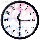 跳舞裝飾靜音時尚臥室芭蕾舞蹈鐘錶掛鐘客廳創意個性藝術圓形時鐘  igo中秋節禮物