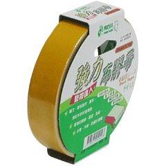 【奇奇文具】北極熊 CLT2415Y黃色布紋膠帶24mm×15yds